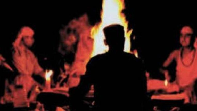 Killing a child, roasting meat with ghee and spices! The shocking act of the birth mother