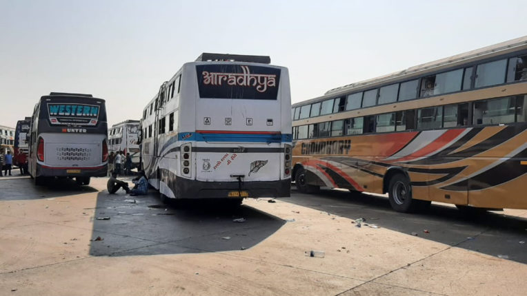 bus cheking palghar