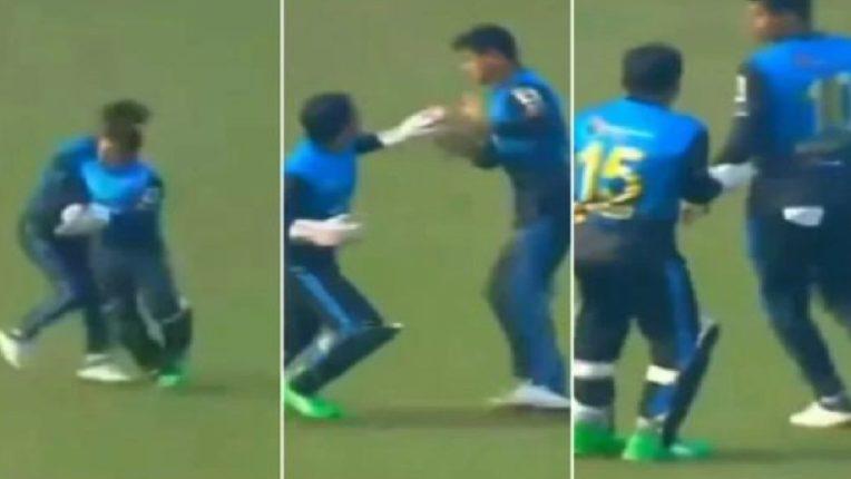 बांगलादेशच्या खेळाडूला संताप अनावर झाला अन् आपल्याच संघातील खेळाडूवर धावून गेला.., पहा पुढे काय झालं?
