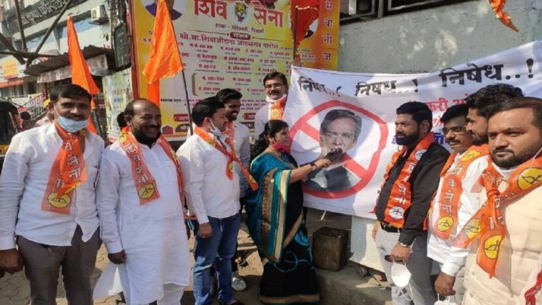 Shiv Sena's criticism on Raosaheb Danve