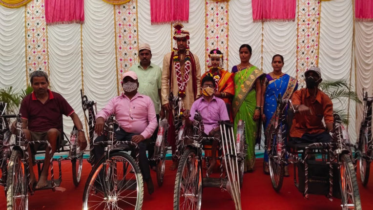 divyang help from arriage expenditure