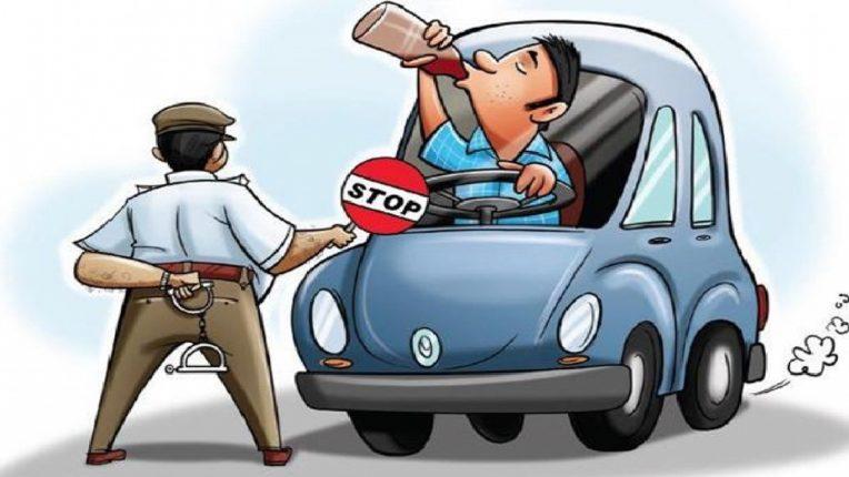 २५ डिसेंबरपासूनठाणे पोलीस 'ड्रिंक अँड ड्राईव्ह' साठी मोहीम राबविणार