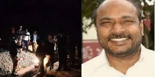 धक्कादायक ! कर्नाटक विधानपरिषद उपसभापतींचा मृतदेह दोन तुकड्यांमध्ये रेल्वे रुळाजवळ सापडल्याने खळबळ