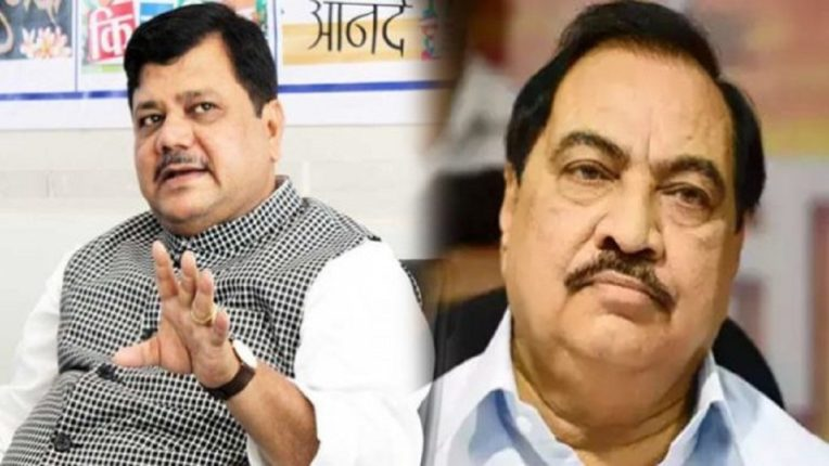 Pravin Darekar's reply to Eknath Khadse's allegations