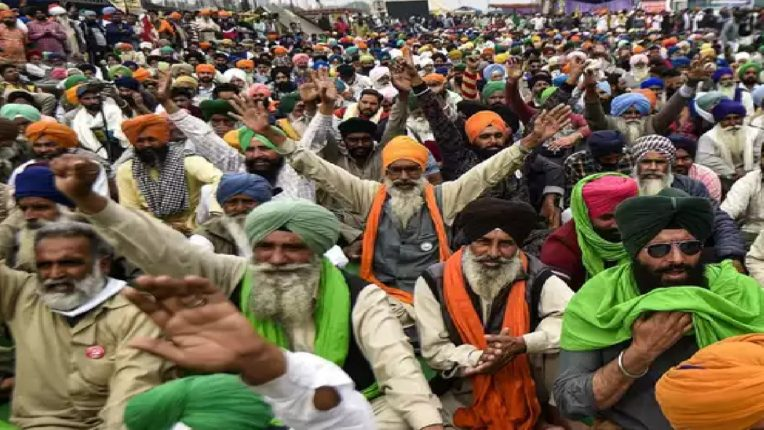 The government is not ready to discuss directly with the farmers
