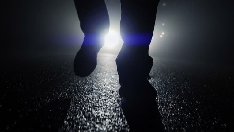 so he walked 450 km, not four or five; Because when they understood, the police also went crazy