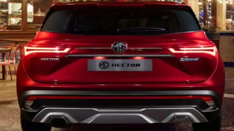 mg hector facelift spy images surface ahead of launch