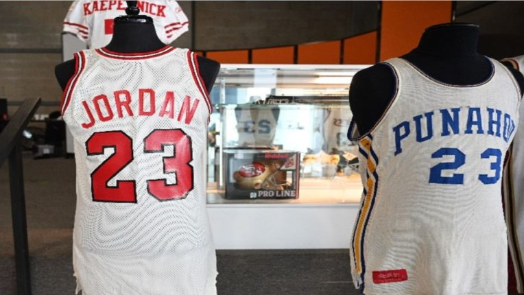 michael jordan jersey barack obama wore 41 years ago in school sells for 1 4 crore rupees