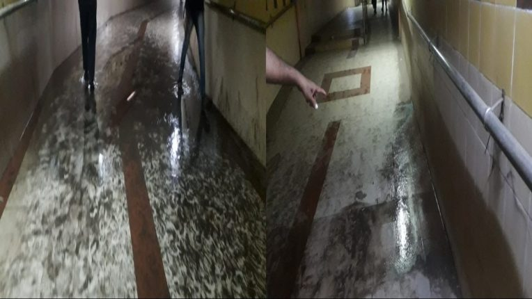 Thane Metro works cause foul smell of sewage water in the subway and harassment of citizens due to mosquitoes