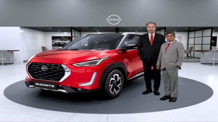 Nissan Indias big attractive beautiful and charismatic SUV The Nissan Magnite arrives vb