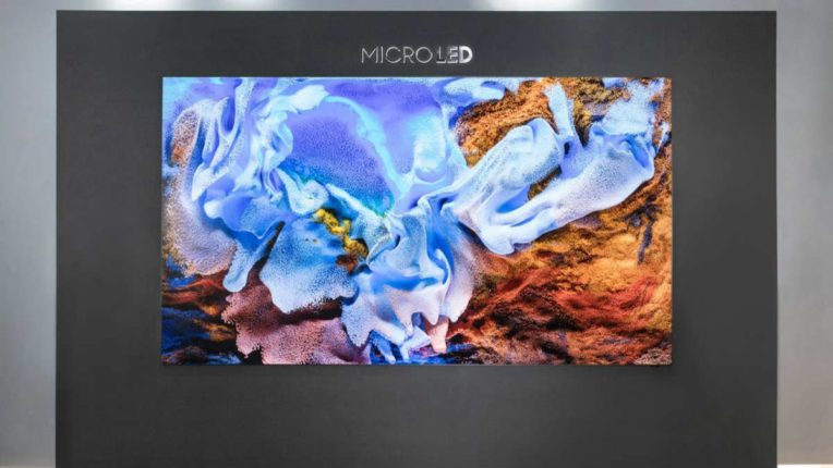 Samsung 110 inch Micro LED TV and take entertainment exquisite experience