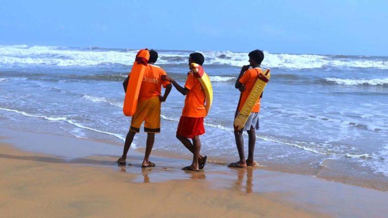 Indian lifeguard