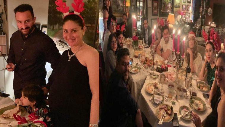पार्टीचा नवाबी थाट!! करीनाच्या घरच्या ख्रिसमस पार्टीचे फोटो पाहायचे आहेत का…