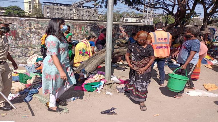 kopri cloth market