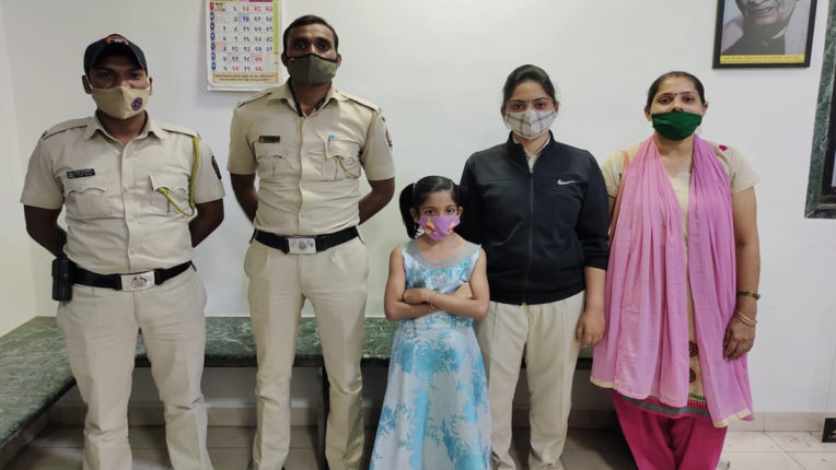 missing girl found in thane