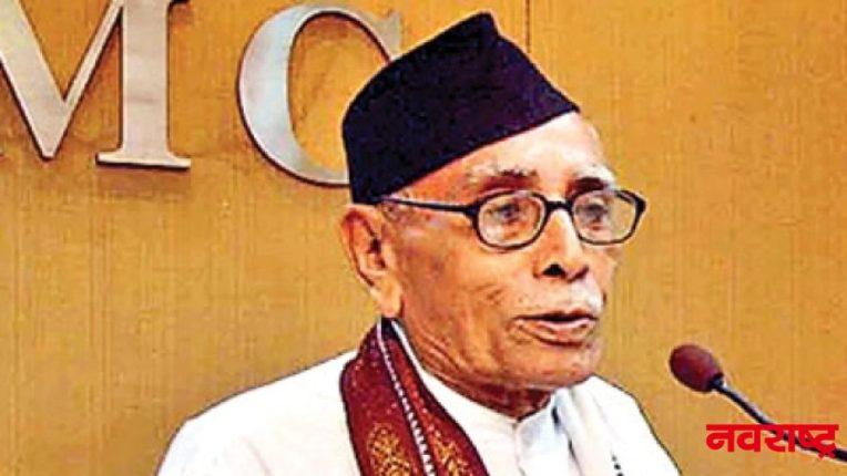 तरुण भारतचे माजी मुख्य संपादक मा. गो. वैद्य यांचे निधन