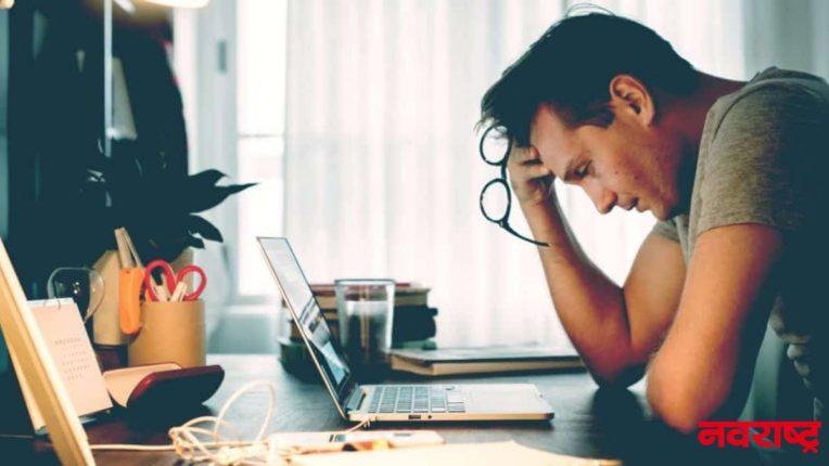 टेंशन घेणाऱ्यांनो लगेच व्हा सावध! कारण नैराश्य व तणावाने होतो मेंदू आकुंचन