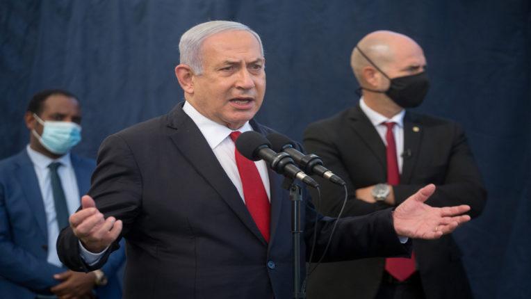 Israeli prime minister Benjamin Netanyahu,