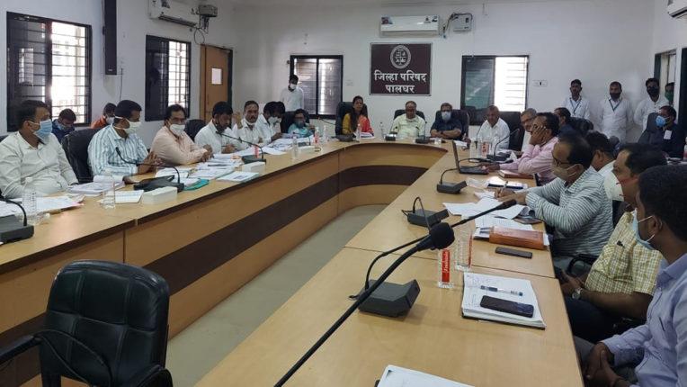 palghar zp meeting