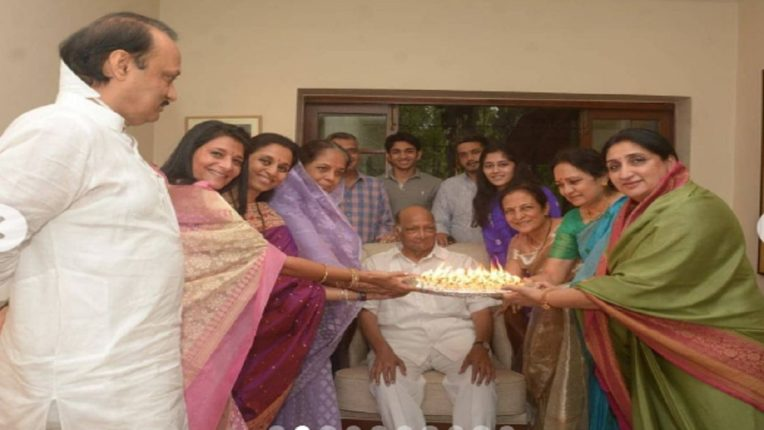 Family get together Sharad Pawar's birthday celebration; Special photo shared by Supriya Sule on Instagram
