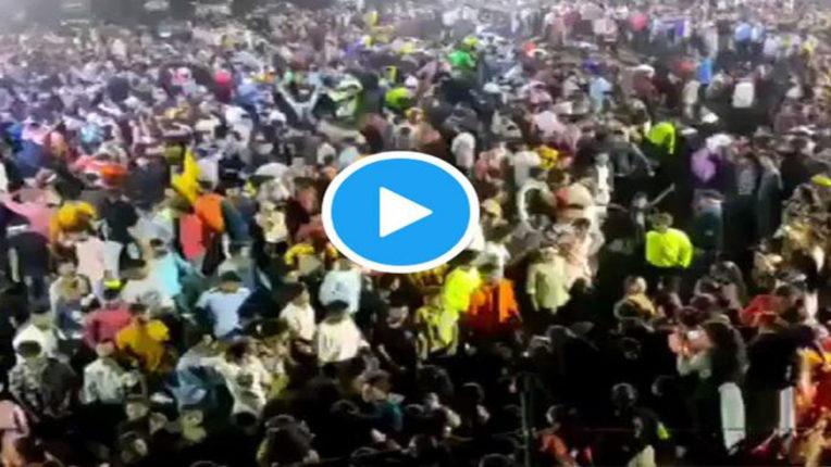 people gathered for Gujarat wedding