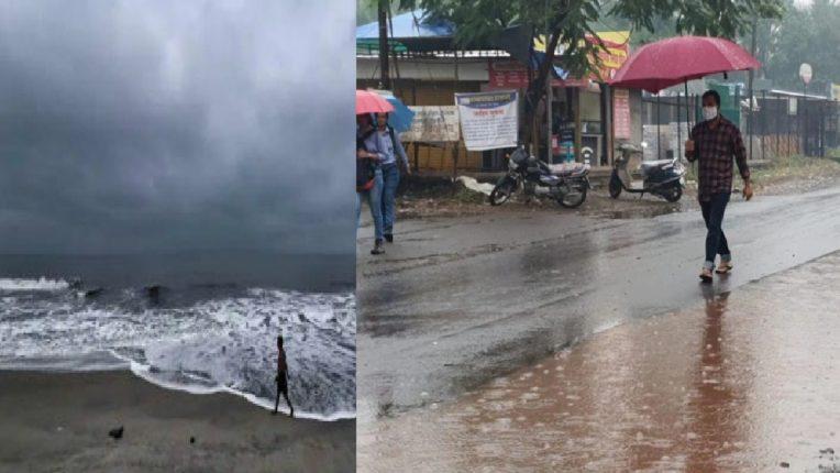 Mumbai, Palghar Navi Mumbai will get light rain showers with cloudy weather for next 24 hours.