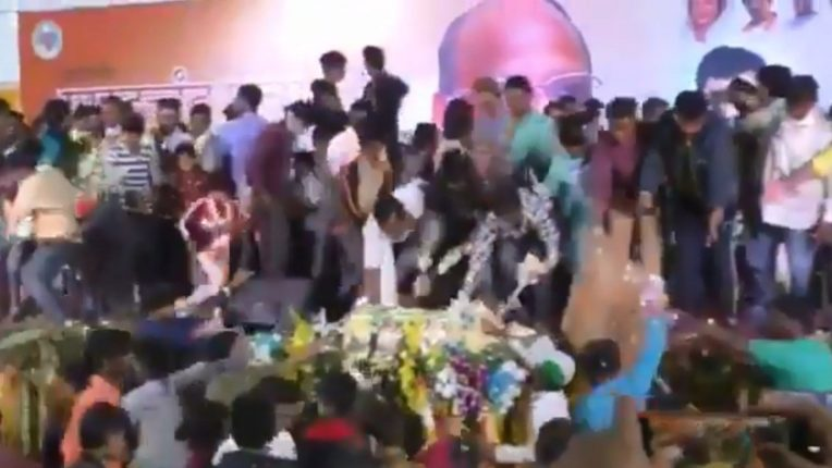 Rush to eat Pawar's birthday cake; Strong discussion of the video shared by Rane