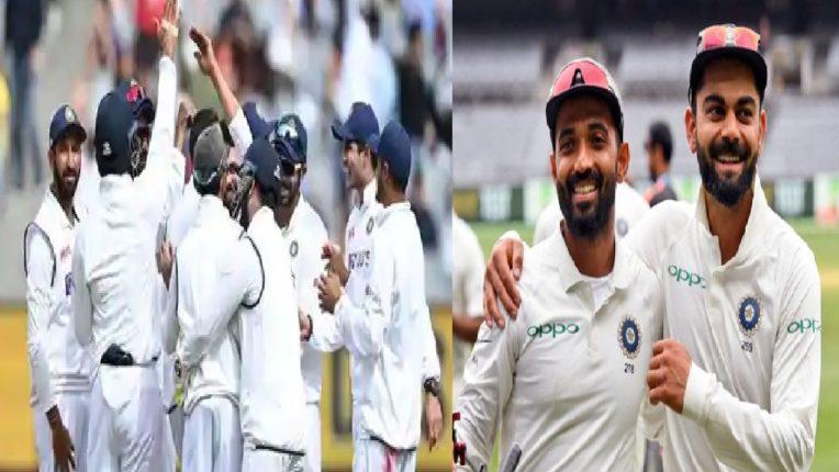 भारताचा ऑस्ट्रेलियावर 'अजिंक्य' विजय, कोहलीने केलं खास ट्विट…