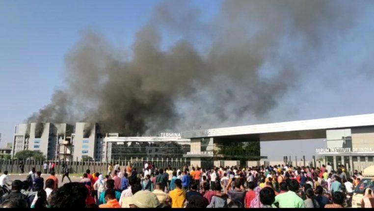 सीरम इन्स्टिट्यूटच्या नव्या इमारतीला आग लावली की लागली? भाजप आमदाराने व्यक्त केला संशय