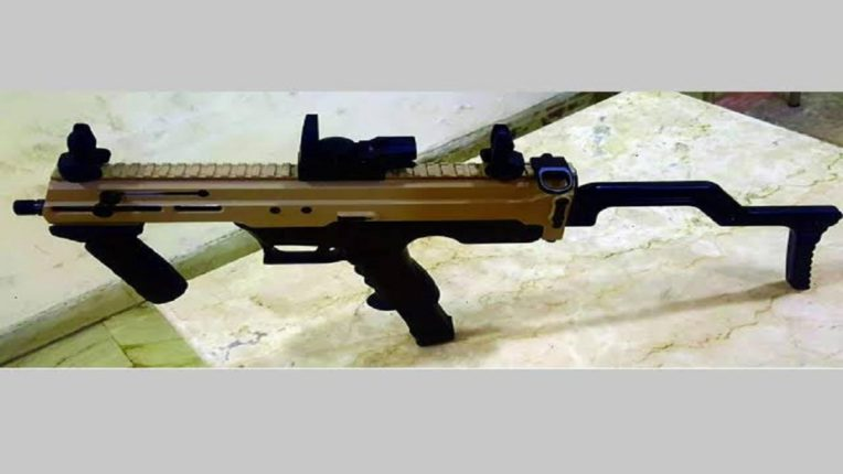 Developed the country's first indigenous 9mm machine pistol Joint performance of ARDE Pune and Infantry School Mhow