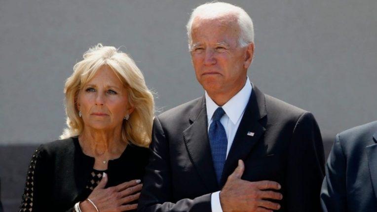 अमेरिकेचे राष्ट्राध्यक्ष जो बायडेन आणि त्यांची पत्नी जिल बायडेन