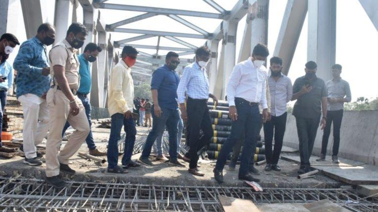 पत्री पुलाचे काम अंतिम टप्प्यात; लवकर वाहतुकीसाठी खुला होणार