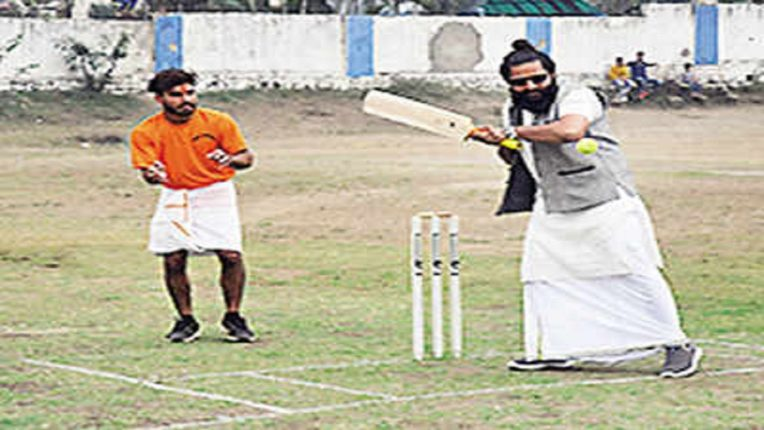 Cricket played the Sanskrit way in Bhopal