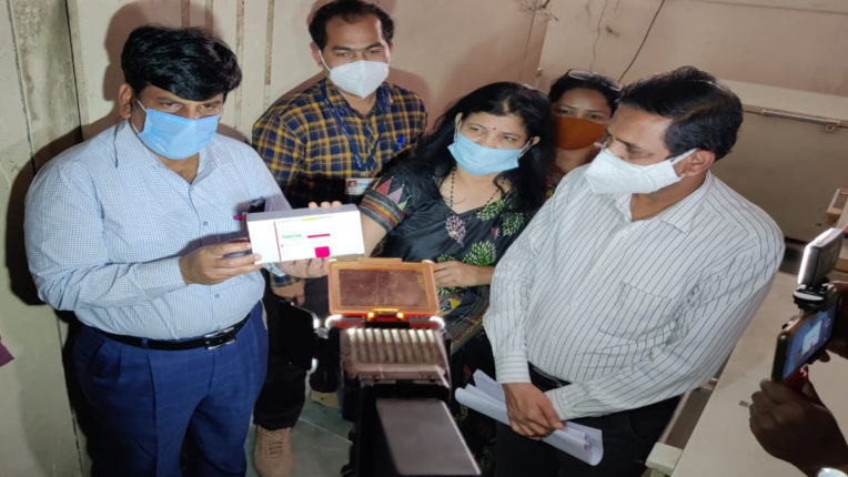 corona vaccine in thane district