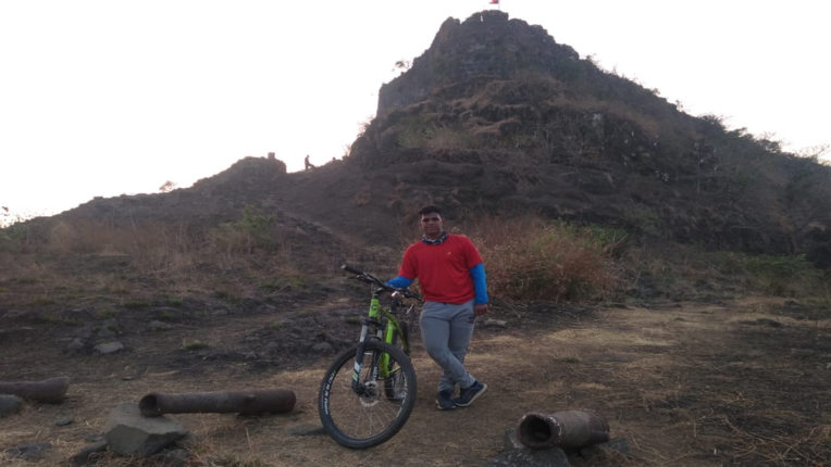 cycling on fort