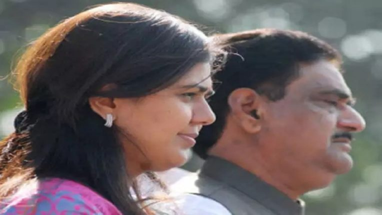 OBC society aggressive on reservation issue BJP leader Pankaja Munde enters the fray