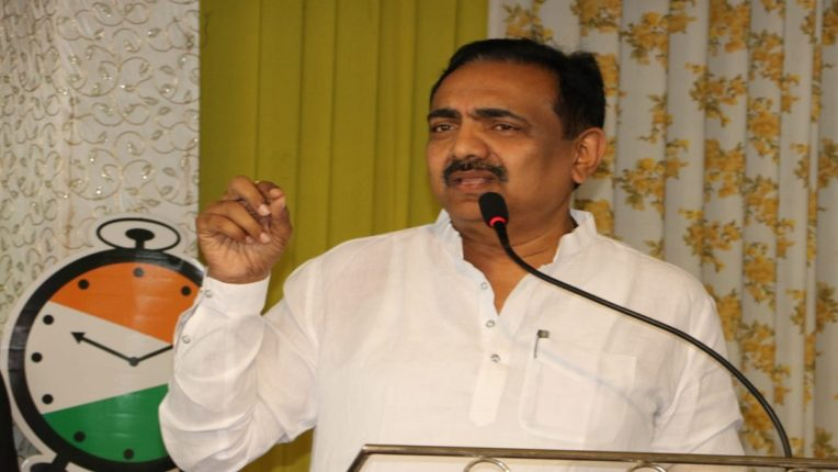 NCP State President and Water Resources Minister Jayant Patil's visit to Bhandara