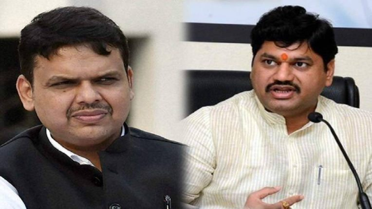 While BJP leaders are demanding the resignation of Dhananjay Munde, Devendra Fadnavis has played a different role