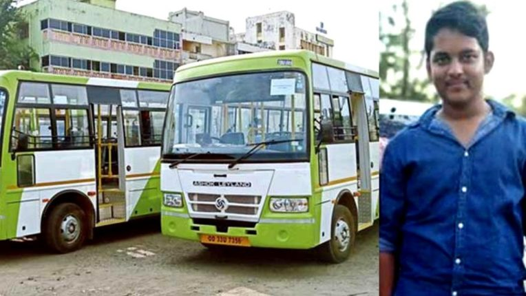 Bus time changed for only one student in Odisha