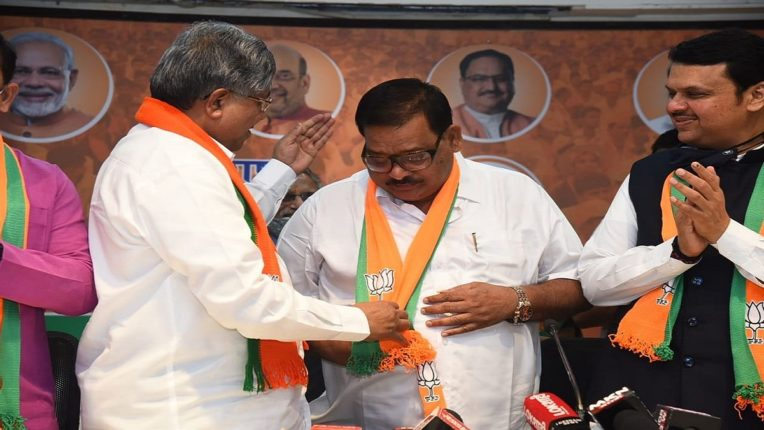 Appointment of Balasaheb Sanap as State BJP Vice President