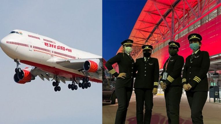 The historic achievements of women pilots in India; Non-stop flight for 16 consecutive hours on difficult air routes