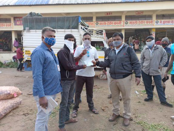 मोशी कृषी उत्पन्न बाजार समिती परिसरात १५ नागरिकांवर कार्रवाई