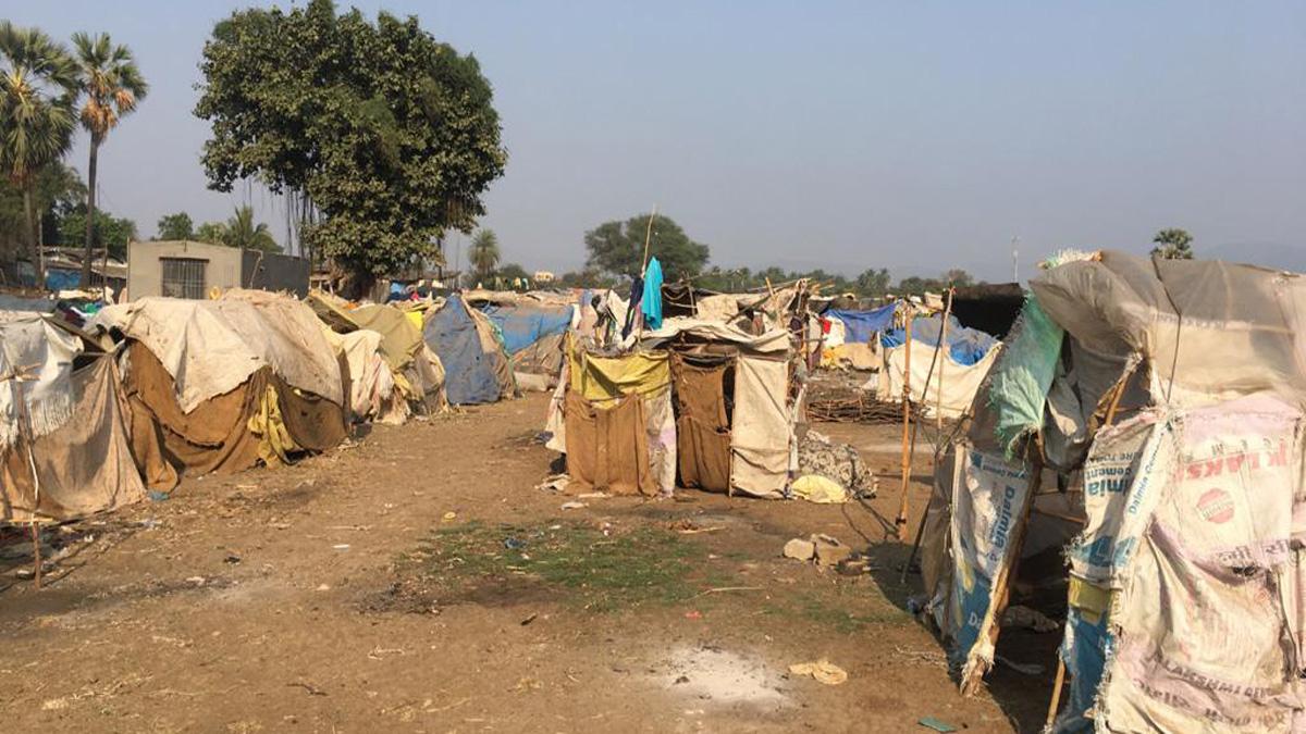 adivasi hut photo