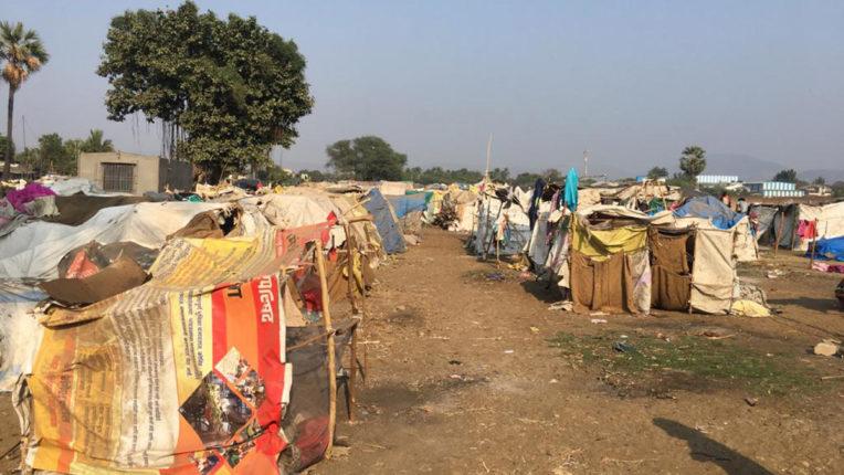 adivasi huts
