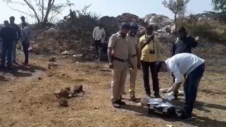 Partial body of a woman found in a plastic bag in Kolhapur
