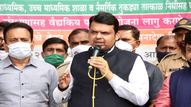 Devendra Fadnavis criticizes Congress state president Nana Patole