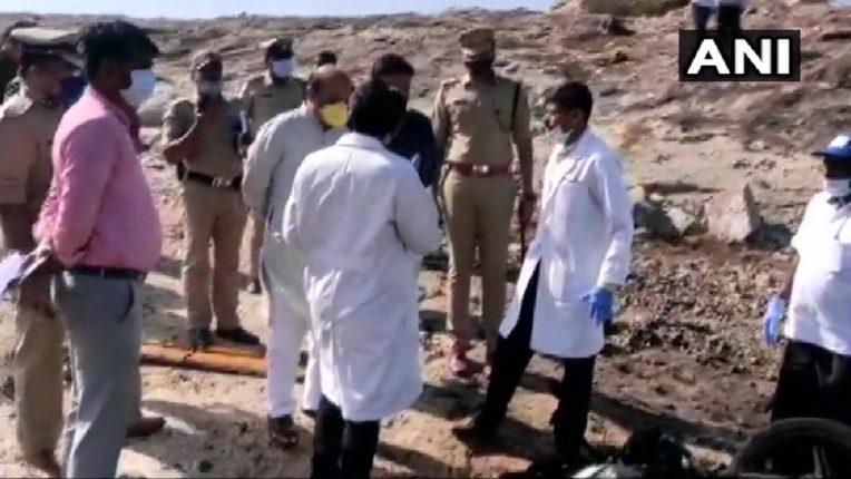 कर्नाटकमध्ये जिलेटिन काड्यांचा भीषण स्फोट; सहा जणांचा मृत्यू , तर एक जखमी