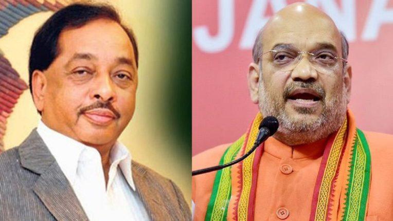 Union Home Minister Amit Shah accepted Narayan Rane's invitation to visit Sindhudurg