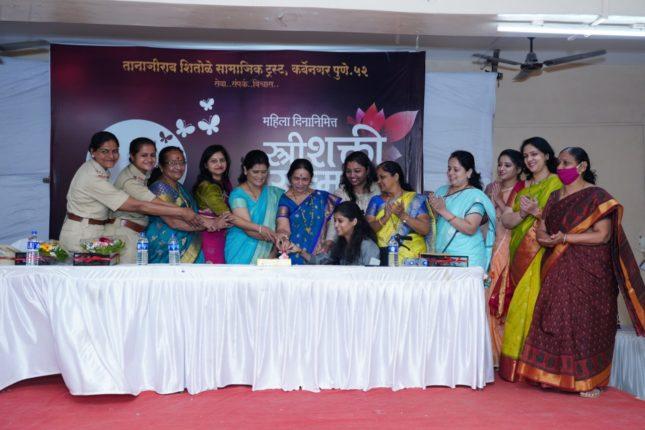 जागतिक महिला दिनानिमित्त 'ती' चा सन्मान ; 'स्त्रीशक्ती सन्मान' पुरस्काराचे वितरण