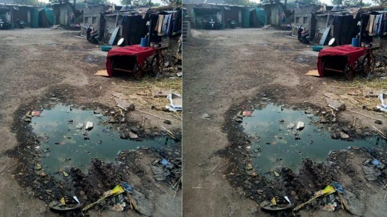 नाल्याची सफाईसह रस्ते दुरुस्तीकडे प्रशासनाचे दुर्लक्ष